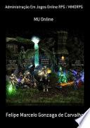 Administração Em Jogos Online Rpg / Mmorpg