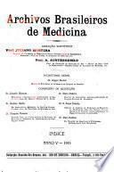 Archivos brasileiros de medicina