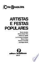 Artistas e festas populares