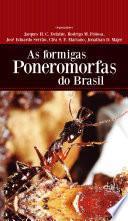 As formigas poneromorfas do Brasil