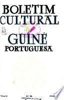 Boletim cultural de Guiné Portuguesa