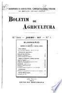 Boletim de Agricultura