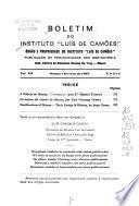Boletim do Instituto Luís de Camões.