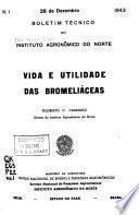 Boletim técnico do Instituto Agronômico do Norte
