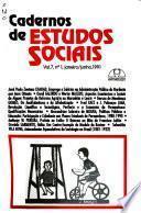Cadernos de estudos sociais