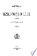 Collecção da legislação novissima do ultramar