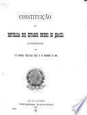 Constituição, acompanhada das leis organicas publicadas desde 15 de novembro de 1889