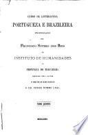 Curso de litteratura portugueza e brazileira