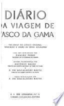 Diário da viagem de Vasco da Gama