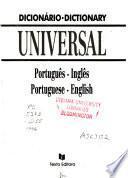 Dicionário universal português-inglês