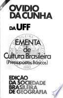 Ementa de cultura brasileira