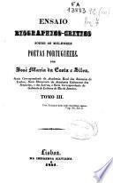 Ensaio biographico-critico sobre os melhores poetas portugueses