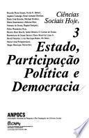 Estado, participação política e democracia
