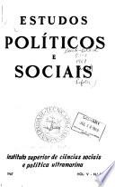 Estudos políticos e sociais