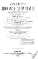 Grande diccionario contemporaneo francez-portuguez