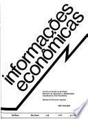 Informações econômicas