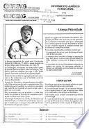 Informativo jurídico FIEMG/CIEMG