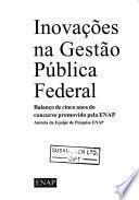 Inovações na gestão pública federal