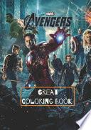 Marvel Avengers Great Coloring Book