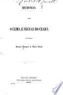 Memoria sobre o clima e seccas do Ceará