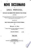 Novo diccionario de lingua portugueza