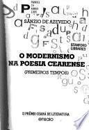 O modernismo na poesia cearense