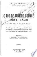 O Rio de Janeiro como é, 1824-1826