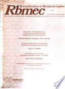Revista brasileira de mercado de capitais