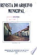 Revista do Arquivo Municipal