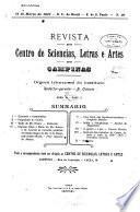 Revista do Centro de sciencias, letras e artes de Campinas