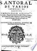 Santoral de varios sermoens de sanctos
