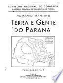 Terra e gente do Paraná